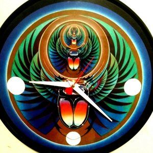 JOURNEY - CAPTURED - 12 INCH WALL CLOCK